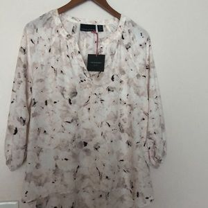 Cynthia Rowley Blouse Blush Pink